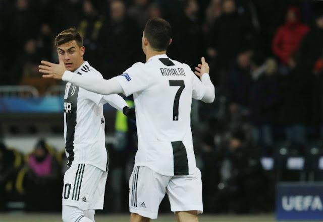Paulo Dybala dan Cristiano Ronaldo menjadi andalan Juventus untuk menghadapi Torino.