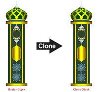 Manfaat Clone Tool CorelDraw