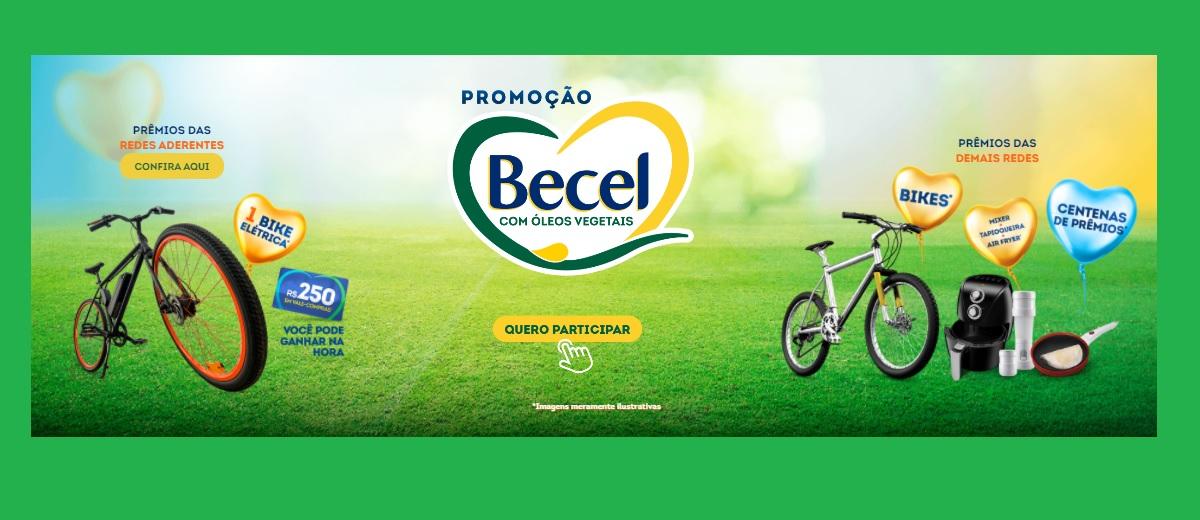 Participar Promoção Becel 2021 Bike Elétrica e Vales-Compras - Cadastrar, Prêmios e Ganhadores