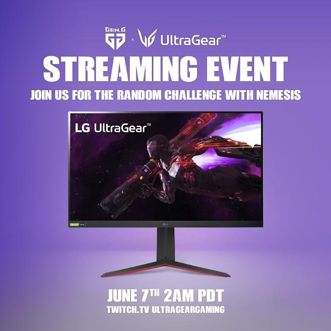 Sorteio de um Monitor gamer LG UltraGear