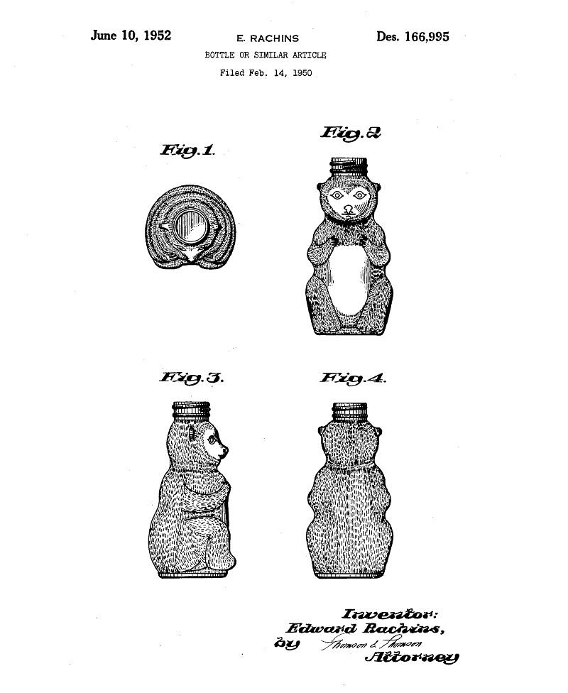 honeybear bottle patent