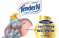 Logo Tenderly ''Be Tender & Win'': in palio buoni ShopDisney da 15€ e 100€