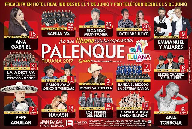 palenque feria tijuana 2017