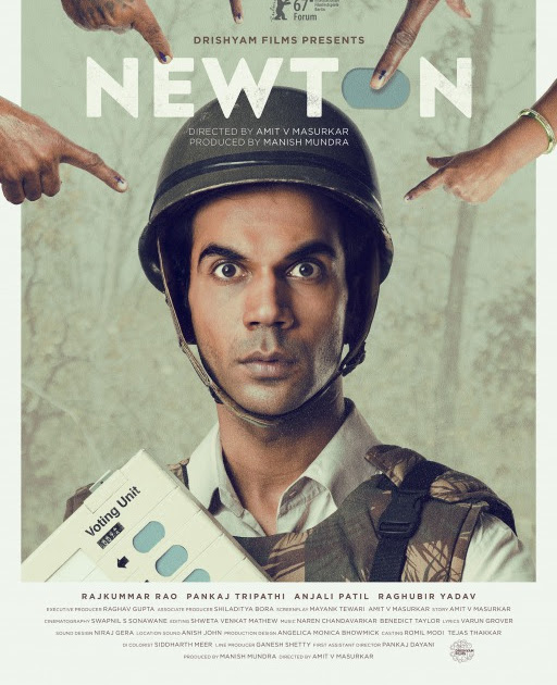 """Newton"" movie starring Rajkumar Rao trailer released."