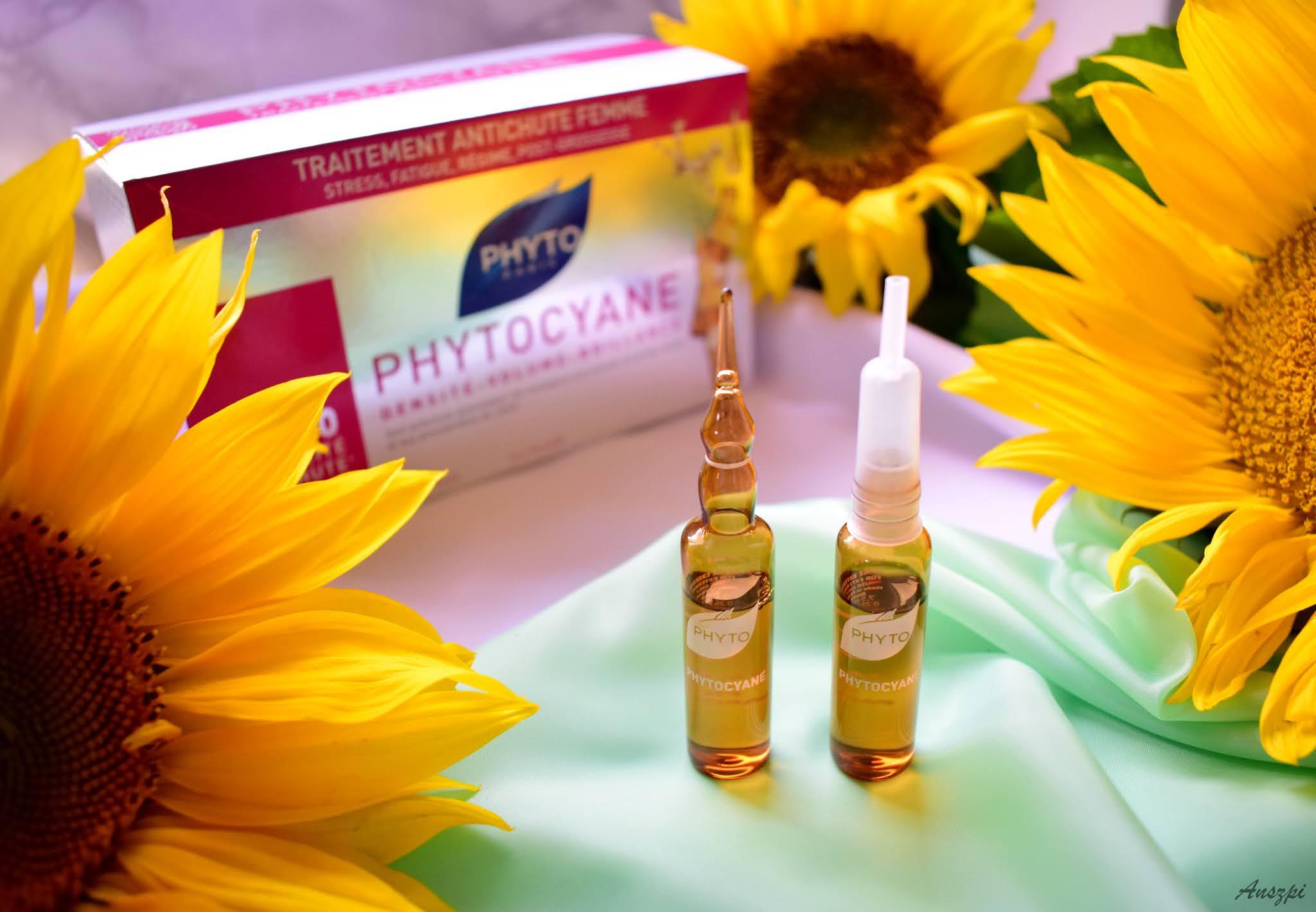 Rewitalizujące ampułki przeciw wypadaniu włosów Phytocyane