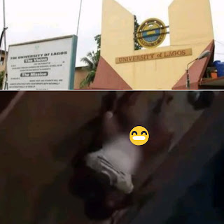 Video: Two Unilag Students Caught Making Love Outside