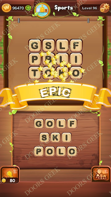 Word Bright Level 96 Answers, Cheats, Solutions, Walkthrough for android, iphone, ipad and ipod