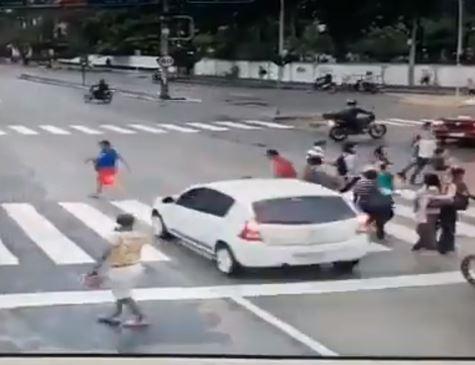 Motorista atropela e mata cadeirante na Agamenon Magalhães