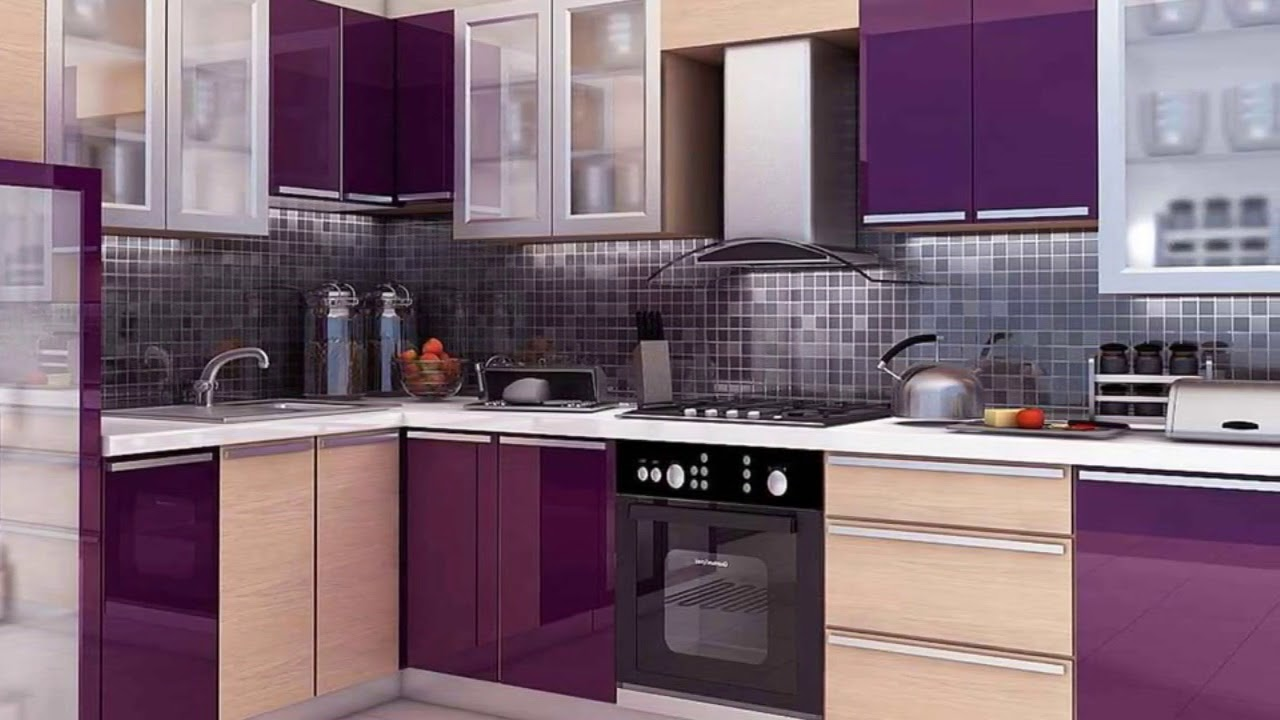 New 100 Modular kitchen designs, cabinets, colors ...