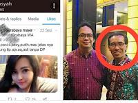 Akun Twitter Wakil Rektor UIN Raden Intan Lampung Ngelike Akun Porno?