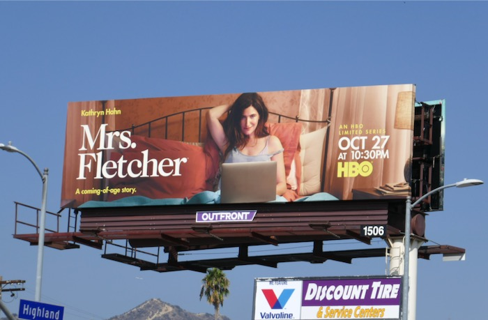 Mrs Fletcher series premiere billboard