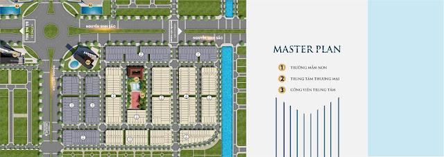 Bản quy hoạch 1/500 khu dự án Melody city, quận Liên Chiểu, Đà Nẵng
