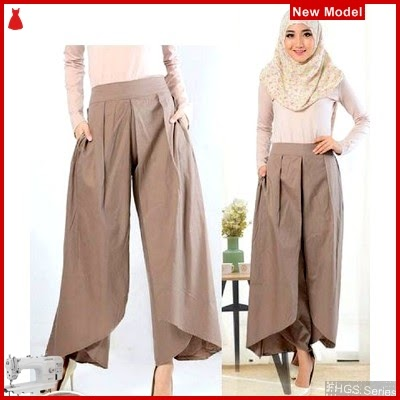 FHGS9114 Model Pants Mairy Mocca, Warna Celana Perempuan Mocca BMG