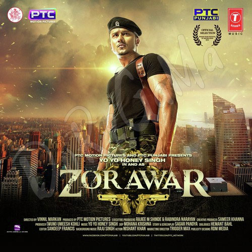 Zorawar Movie CD fRont cover POster Wallpaper