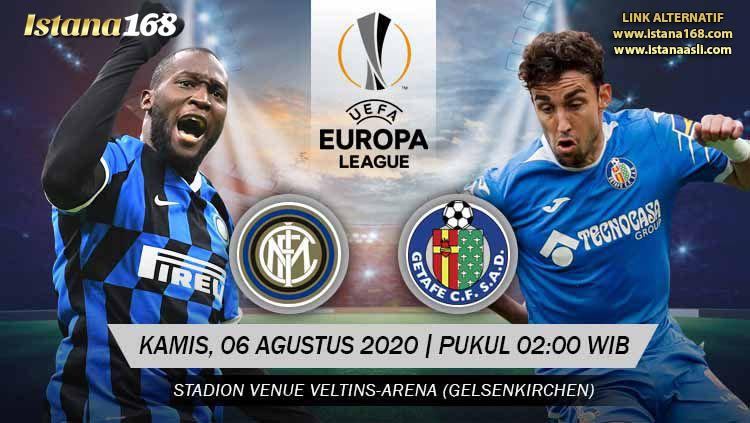 Prediksi Bola Akurat Istana168 Inter Milan vs Getafe 06 Agustus 2020