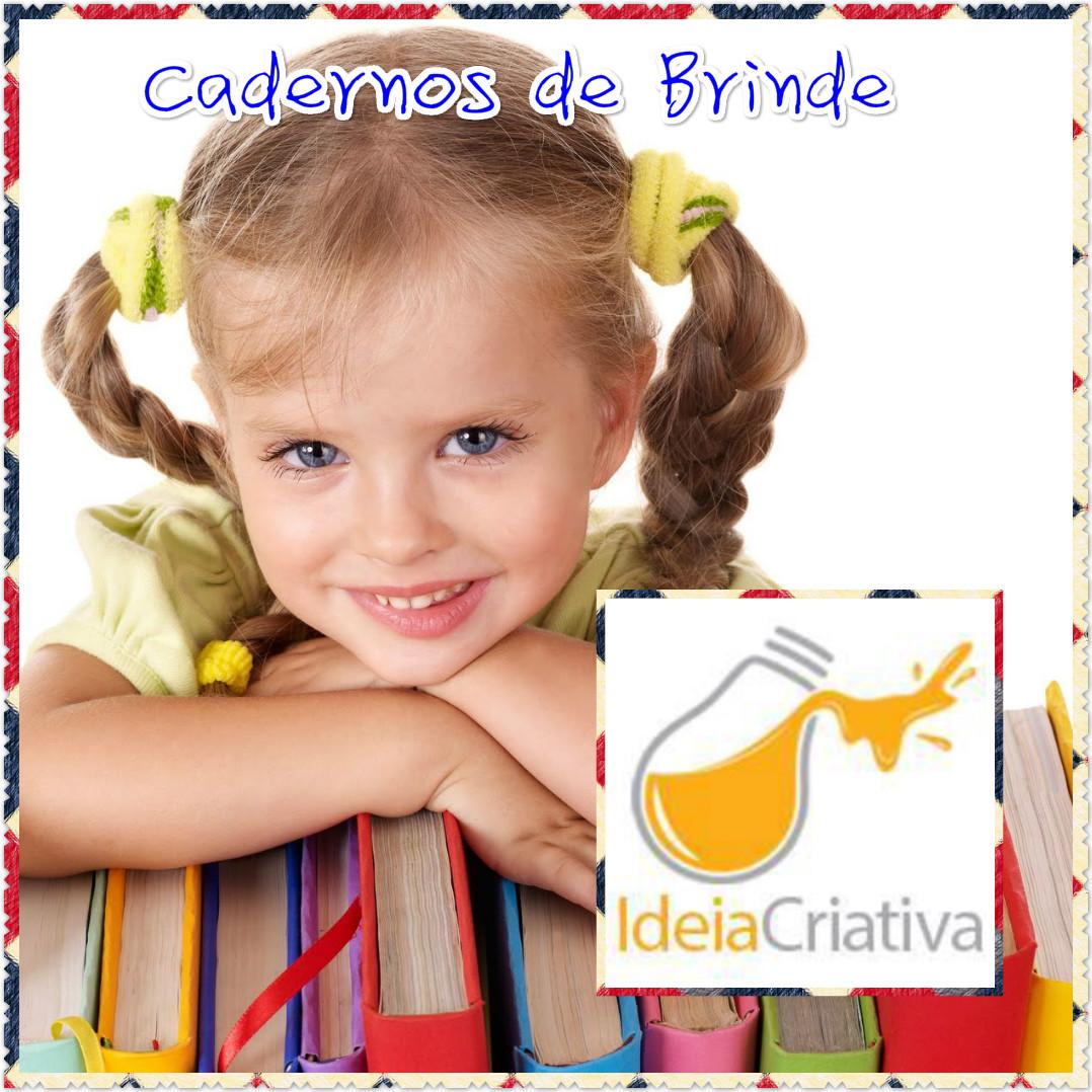 Caderno de Atividades Educação Infantil Ideia criativa Brinde