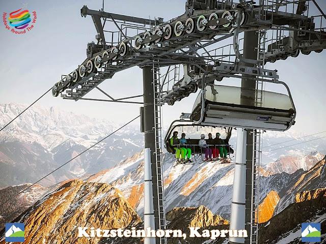 Kitzsteinhorn Weißsee Glacier, Kaprun