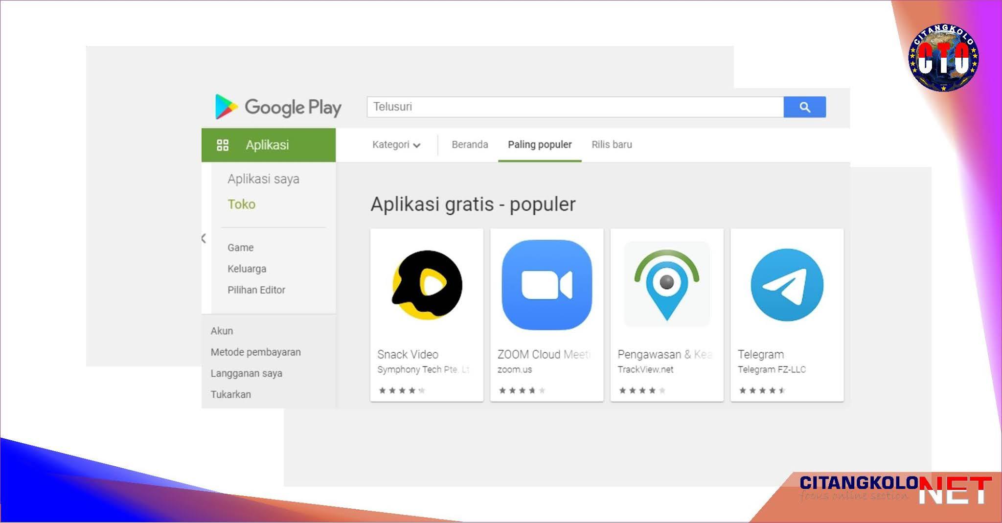 Aplikasi Berbahaya pada android