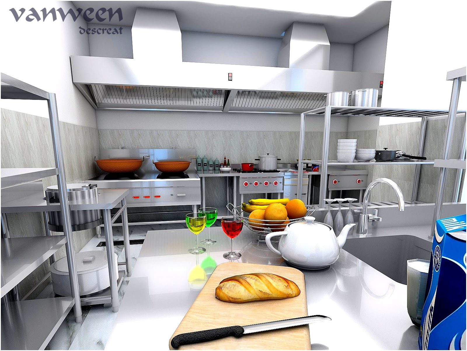 Desain Dapur Catering Desain Rumah