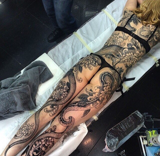 lovely tattoo desing for hot girls, Bollywood, Hollywood Celebrities Tattoos Pic