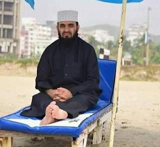 মালয়েশিয়ায় হোম কোয়ারান্টাইনে মিজানুর রহমান আজহারী।