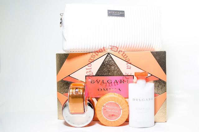 Bvlgari Omnia Indian Garnet Perfume Set