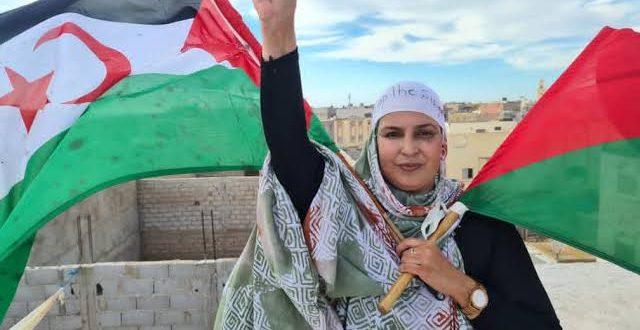 منظمة فرنسية تدق ناقوس الخطر إزاء الوضع الصحي المقلق للناشطة الصحراوية سلطانة سيد إبراهيم خيا.