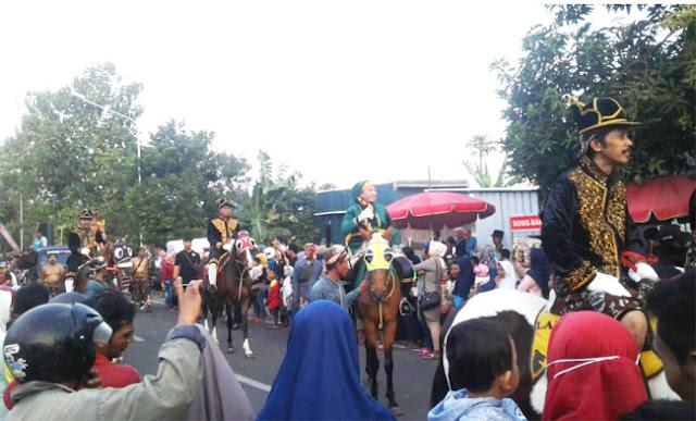 Parade Budaya di Hari Jadi Bantul