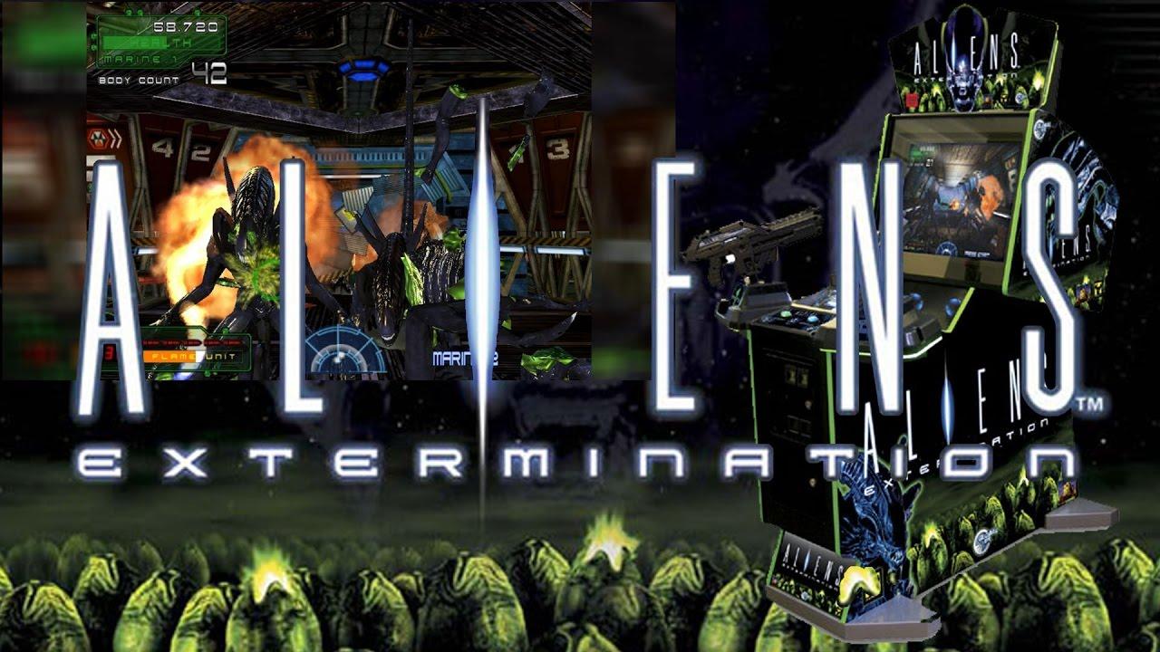 Aliens Extermination Arcade Dump