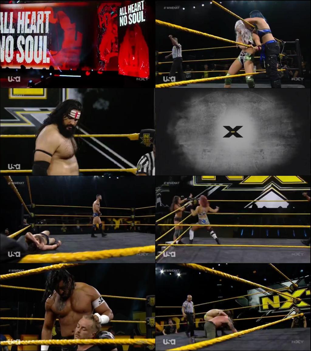 WWE NXT 10th June 2020 480p WEBRip