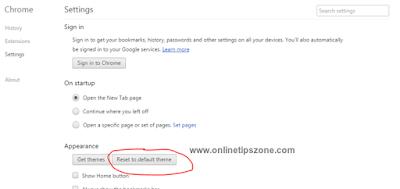 delete theme in Chrome