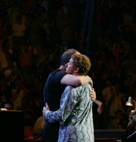 Pete Townshend & Roger Daltrey MSG May 22, 2004... friends 'til the end!
