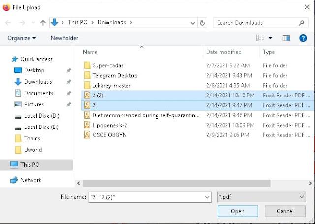 """Open files window"" - ilovepdf.com - Merge PDF files"