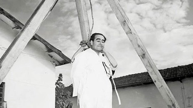 عدنان مندريس بعد الإعدام