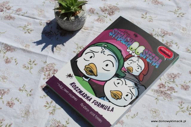 Opowieść komiksowa dla dzieci  - STRACHOSFERA. Koszmarna formuła - przygody Hyzia, Dyzia i Zyzia