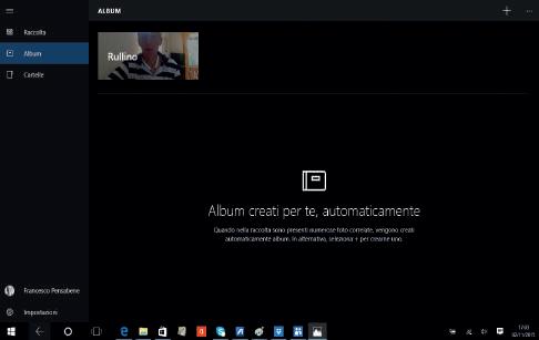 come raccogliere foto per data in windows 10
