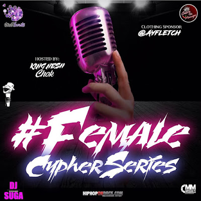 Miss T Events Presents The #FemaleCypherSeries Pt2 | @Misstevents / www.hiphopondeck.com