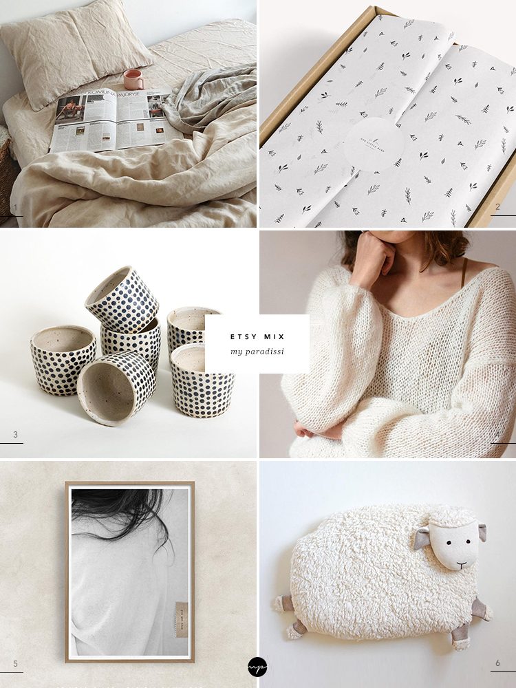 Best of Etsy finds curated by Eleni Psyllaki for My Paradissi