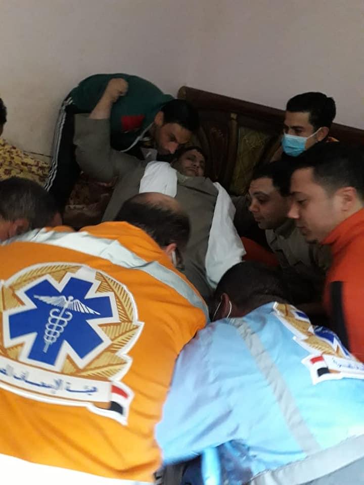وزيرة الصحة تأمر بنقل مريض السمنة المفرطة بزفتي إلى مستشفى معهد ناصر