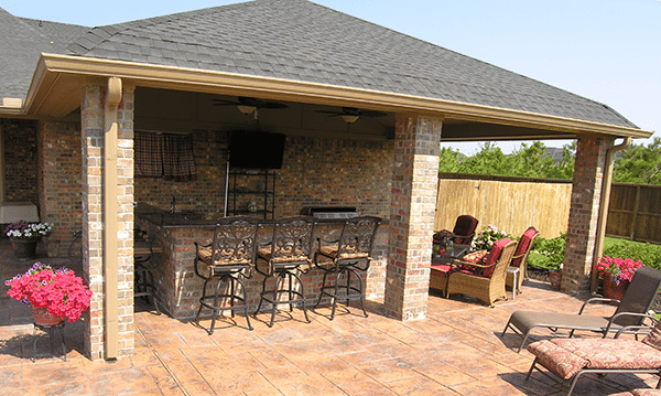 Custom Outdoor Patio Construction DFW 3