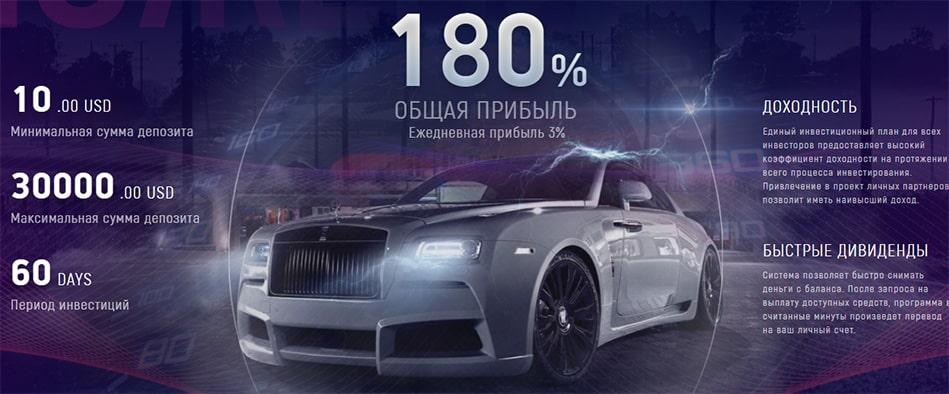Инвестиционные планы LuxAuto