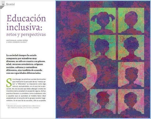 Educación inclusiva: retos y perspectivas