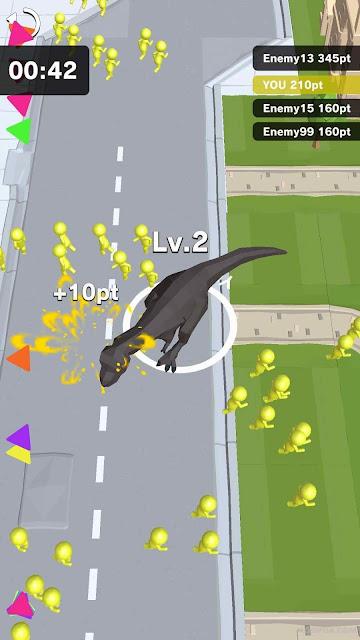 Dinosaur Rampage MOD APK Unlimited Coins / Money