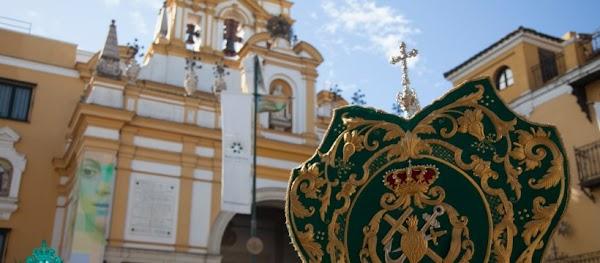 Horario e Itinerario Rosario extraordinario de jóvenes que estará presidido por el Simpecado de la Macarena. Sevilla 03 de Octubre del 2021