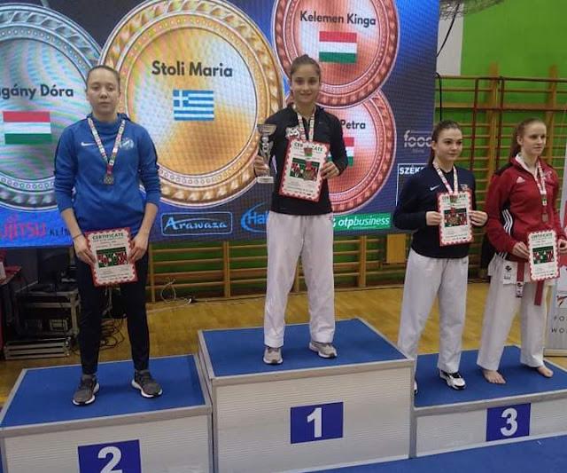 Θεσπρωτία: Η Θεσπρωτή αθλήτρια του καράτε Μαρία Στόλη σαρώνει τα χρυσά μετάλλια...
