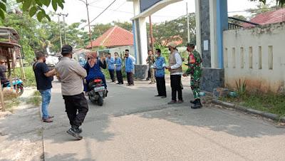 Kanit Provos Polsek Sepatan Harap Selalu Jaga Bhabinkamtibmas Desa jelang Pilkades  Sangiang