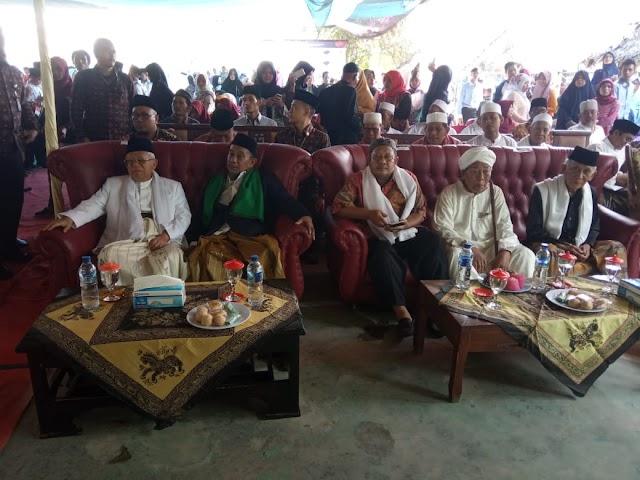 KH.Maruf Amin Hadiri Mild Ke-50 Yayasan Pendidikan Islam Manaba'ul Hikmah