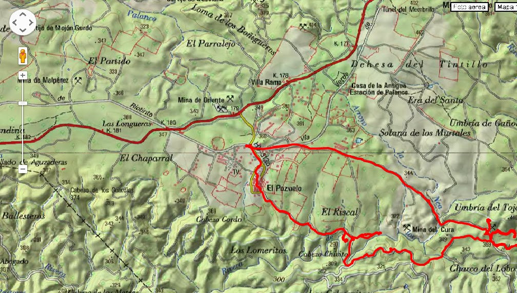 Zalamea La Real Mapa.Ruta Los Dolmenes De El Pozuelo Zalamea La Real