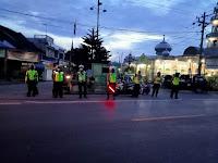 Hari ke-13 Berpuasa, Sat Lantas Polres Sergai Gencar Giat Gabungan Satfung Asmara Subuh