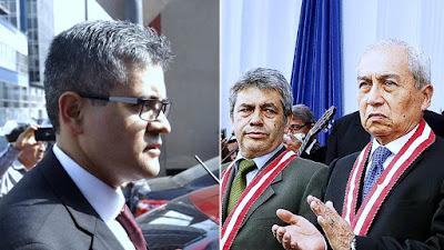 Fiscal Pérez denunció a Tomás Gálvez y Pedro Chávarry por agresión contra su esposa
